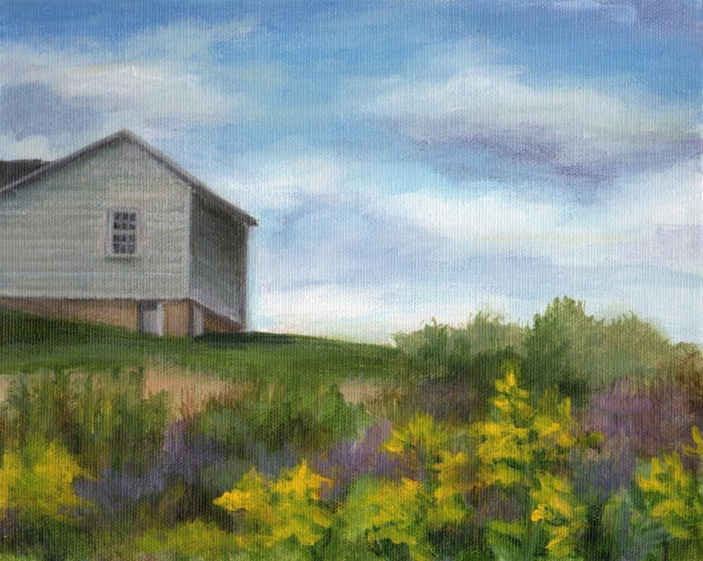 """From the Field"" original fine art by Debbie Shirley"