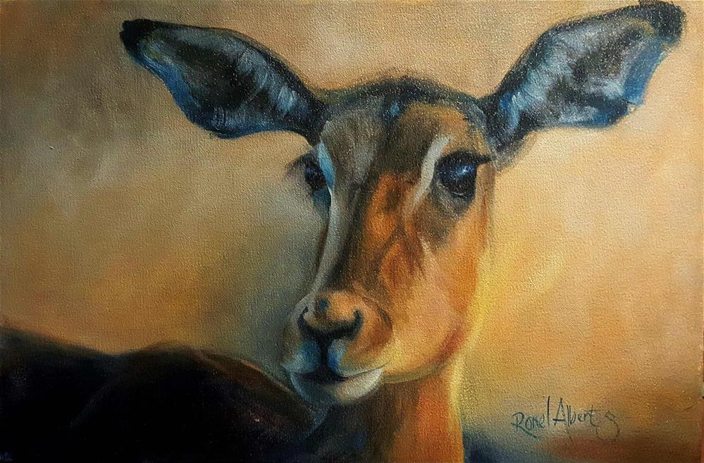 """INTO THE WILD"" original fine art by Ronel Alberts"