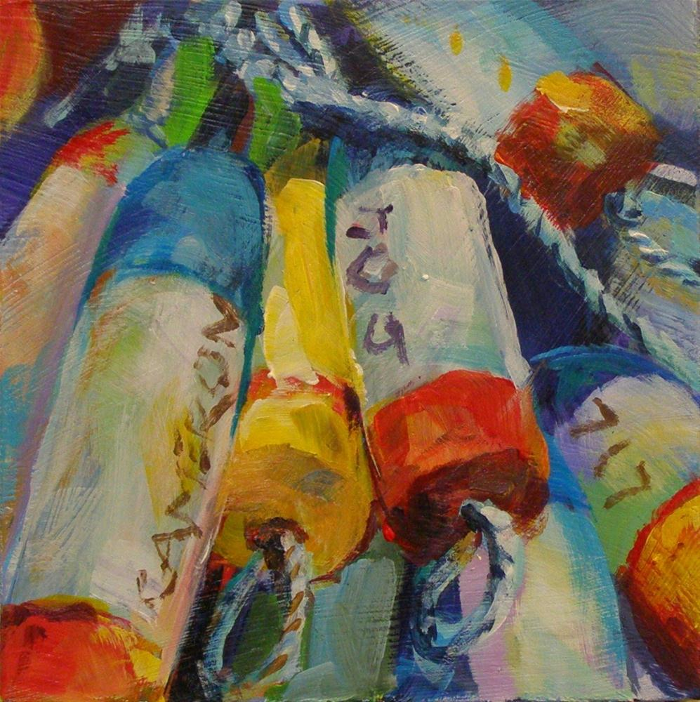 """BUNCH O' BUOYS"" original fine art by Brian Cameron"