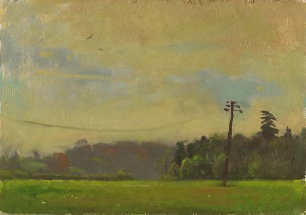 """""""Brettenham Morning"""" original fine art by Ed Cooper"""