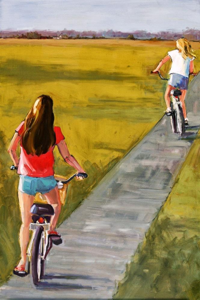 """seven"" original fine art by Carol Carmichael"