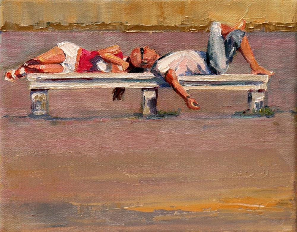 """""""pennichella"""" original fine art by Carol Carmichael"""