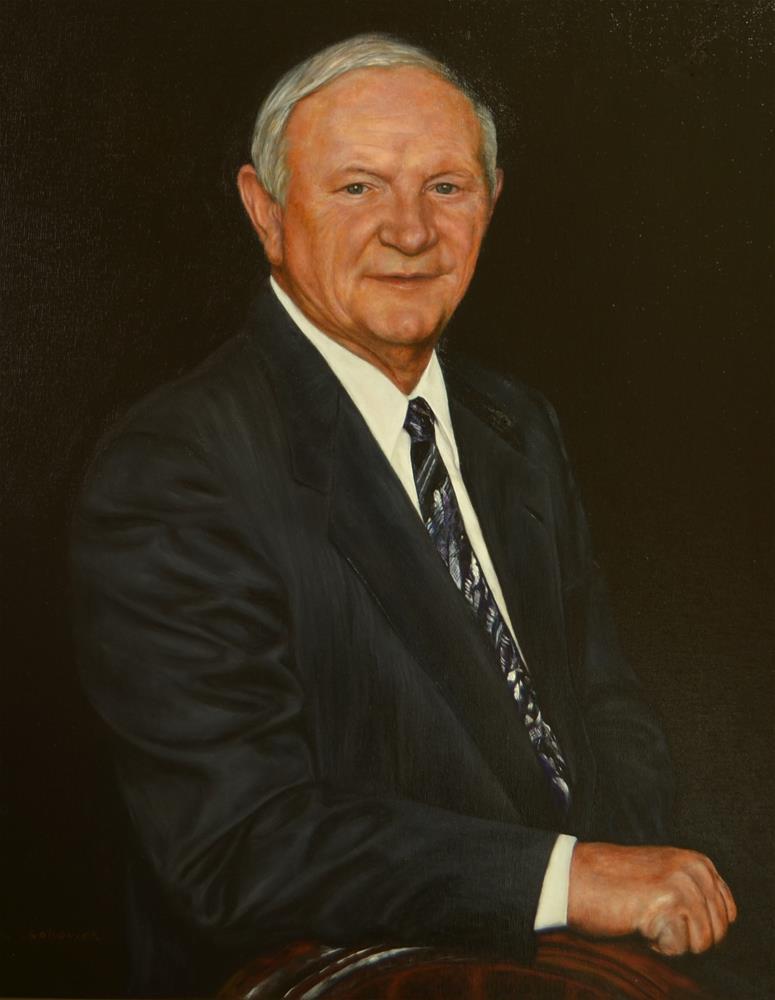 """Custom Portrait, Executive Portrait,"" original fine art by Sun Sohovich"
