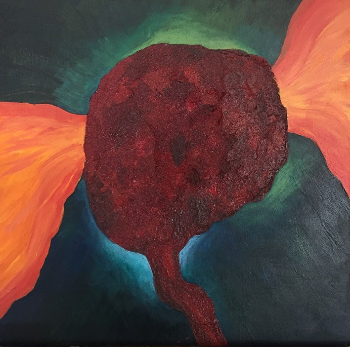 """Winged Victory"" original fine art by Madeleine Hoffmeister"