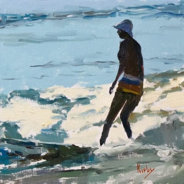"""Staying Cool"" original fine art by Randall Cogburn"