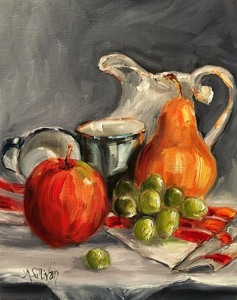 """Plenty still life painting by Alabama Artist Angela Sullivan"" original fine art by Angela Sullivan"