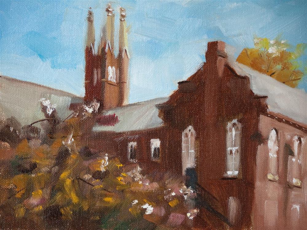 """Old Main"" original fine art by Beth Bathe"