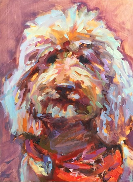 """Rosie"" original fine art by Karen Bruson"