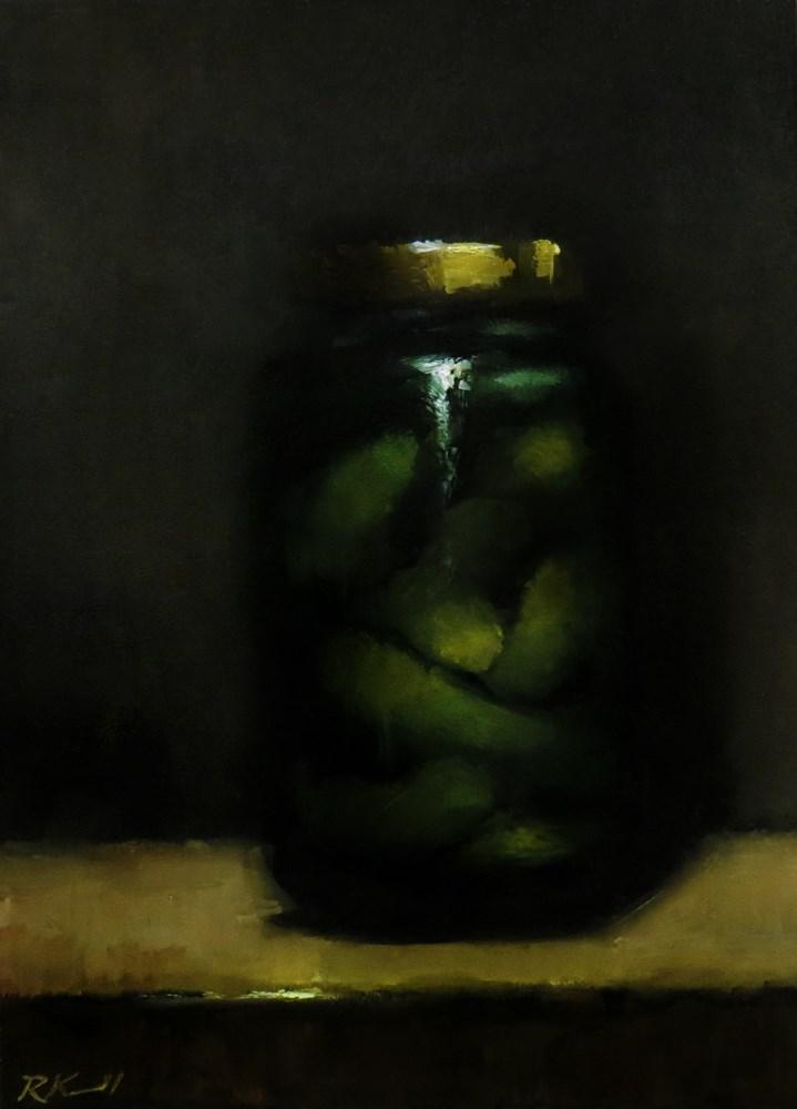 """Gherkin Pickles"" original fine art by Bob Kimball"