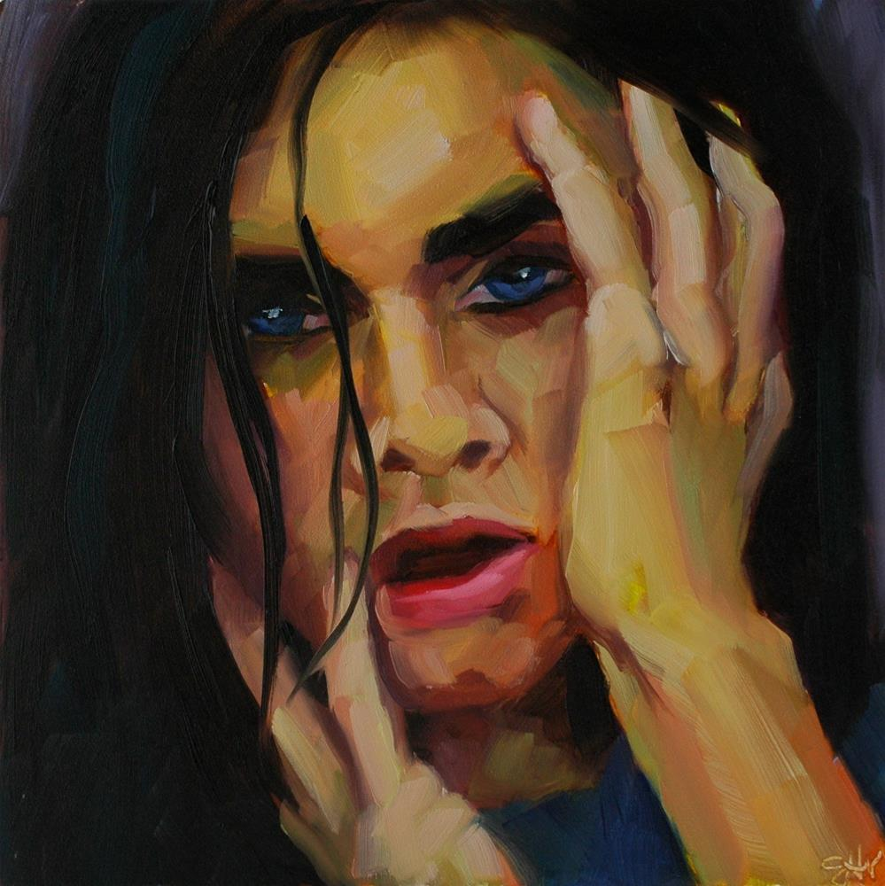 """Broken"" original fine art by Janette Harter"