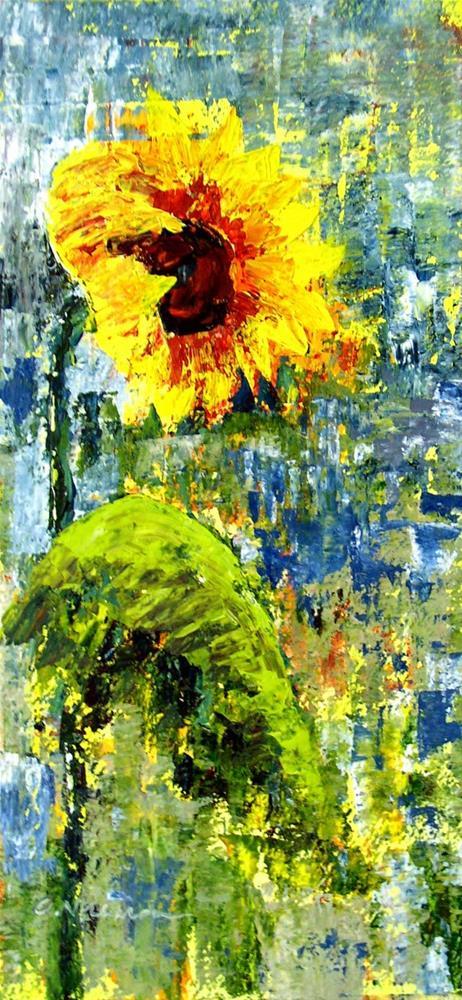 """""""Sunflower #4"""" original fine art by Anna Vreman"""