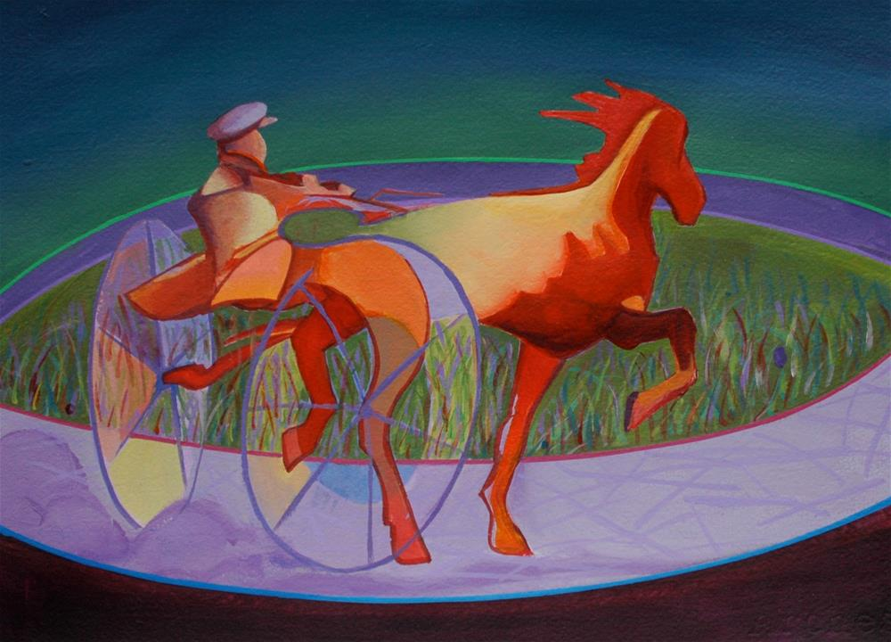 """Phaeton III"" original fine art by Mark Allison"