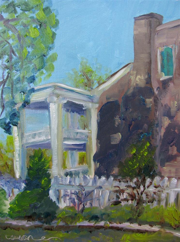 """Afternoon at Carnton Plantation"" original fine art by Susan Elizabeth Jones"