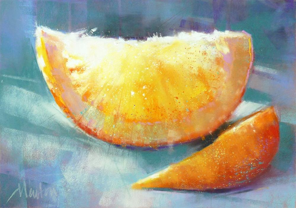"""""""Citrus"""" original fine art by Barbara Benedetti Newton"""