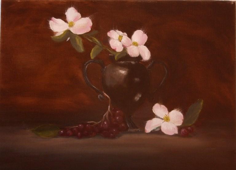 """Dogwoods"" original fine art by Mary Datum"