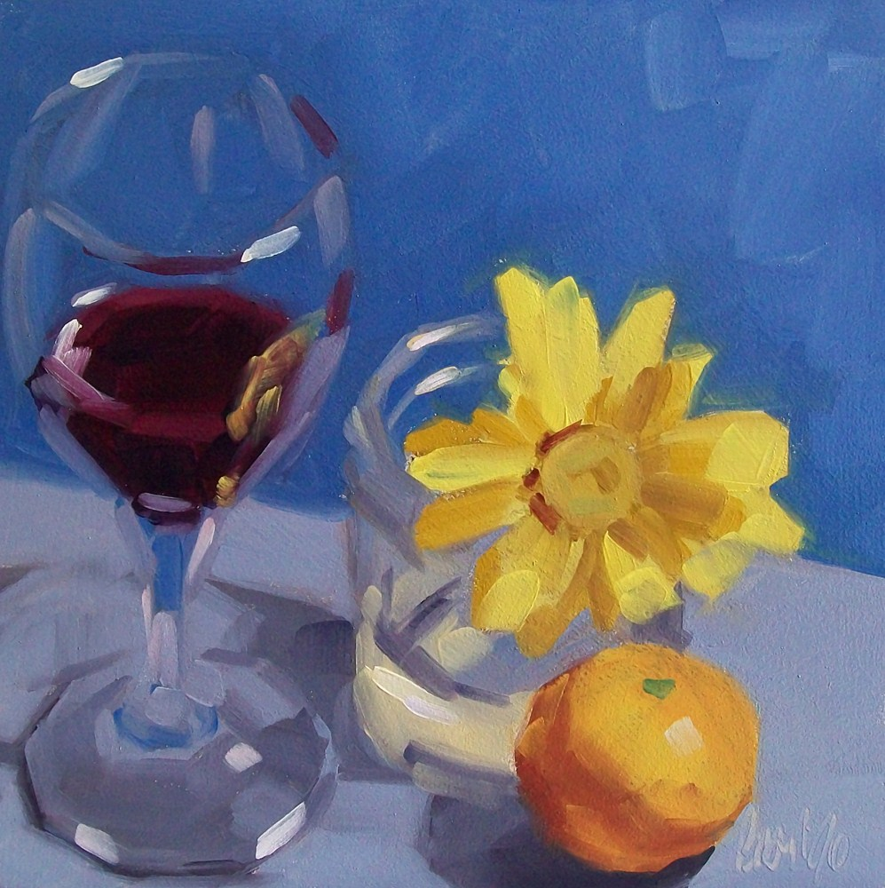 """Wino 32"" original fine art by Brandi Bowman"