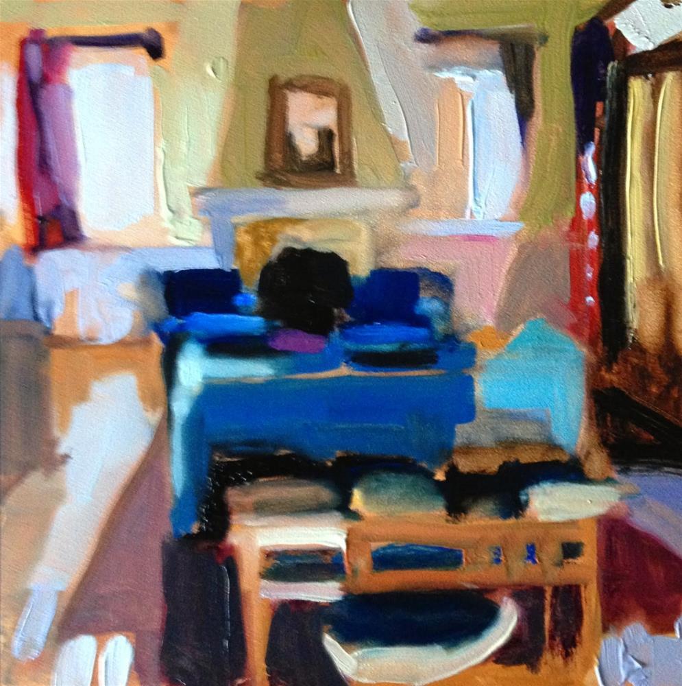 """Quotidian # 5"" original fine art by Pamela Hoffmeister"