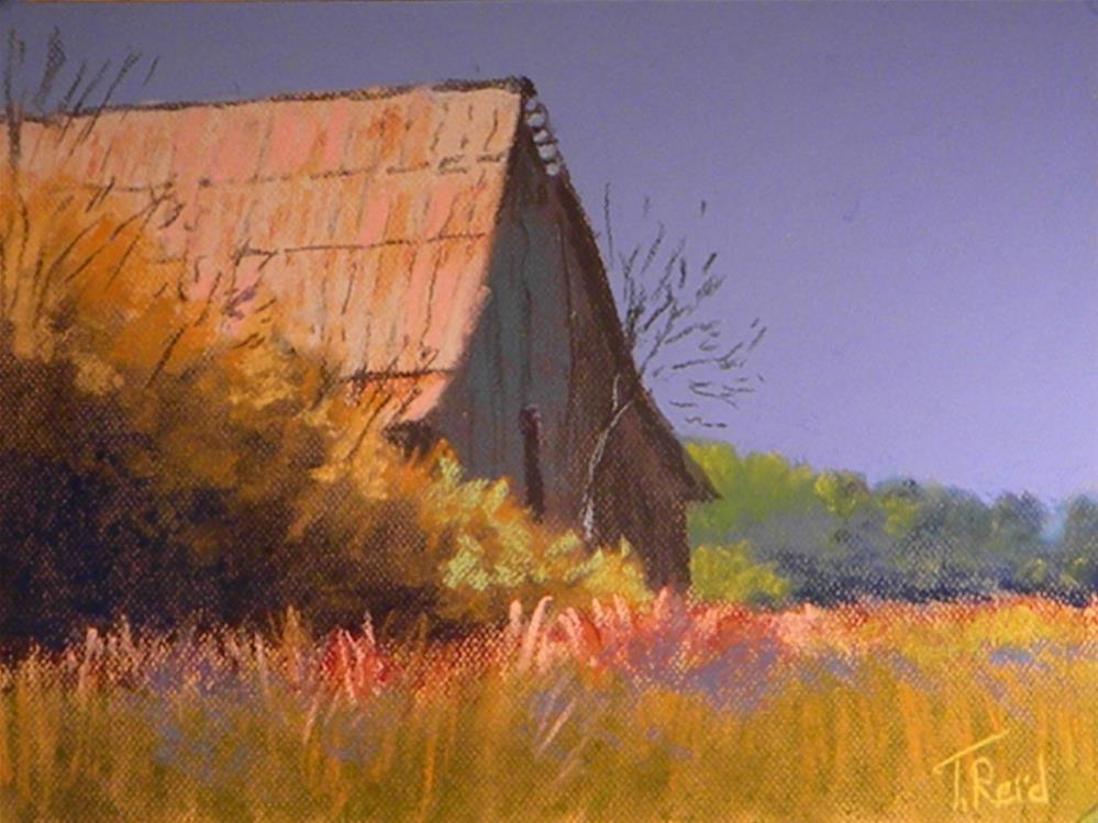 """North Georgia barn"" original fine art by Toby Reid"