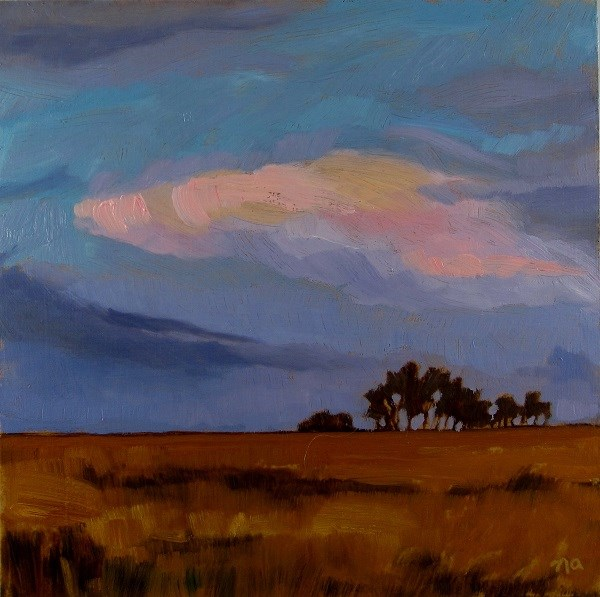 """A Prairie Scene"" original fine art by Nicki Ault"