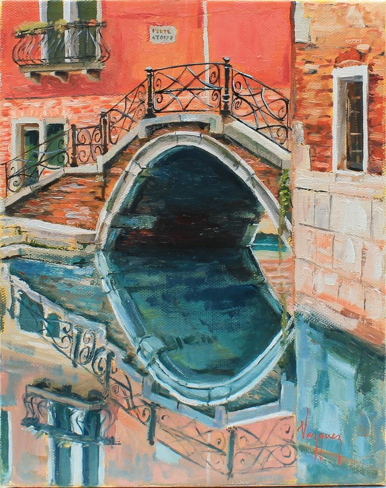 """""""Il ponte"""" original fine art by Marco Vazquez"""