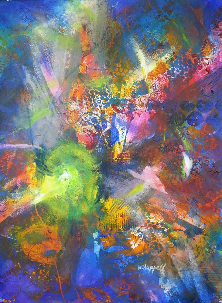 """Metatronic Energies"" original fine art by Becky Chappell"