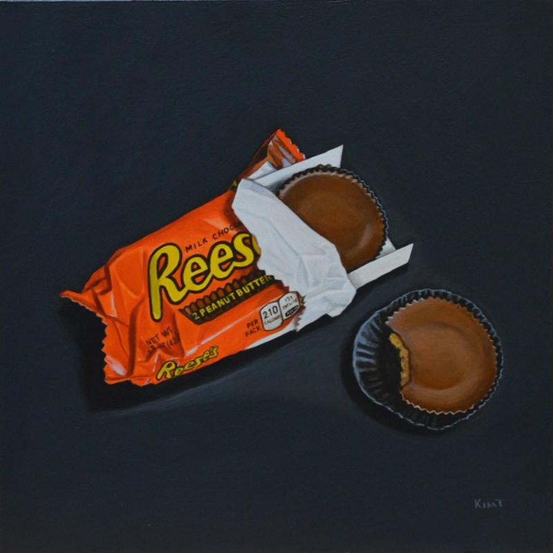 """Reese's Cups"" original fine art by Kim Testone"