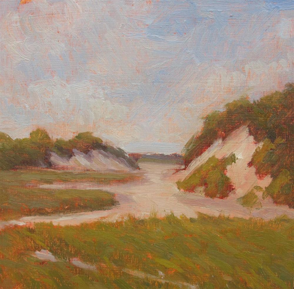 """Provincetown Dunes"" original fine art by Eden Compton"