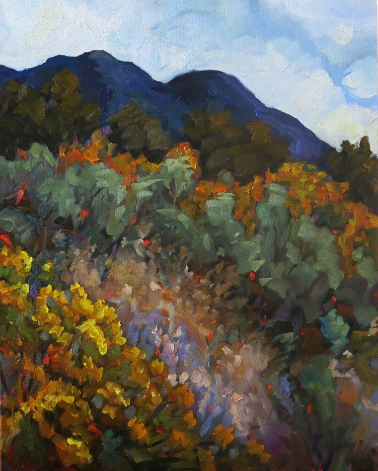 """PLACITAS DREAM"" original fine art by Dee Sanchez"