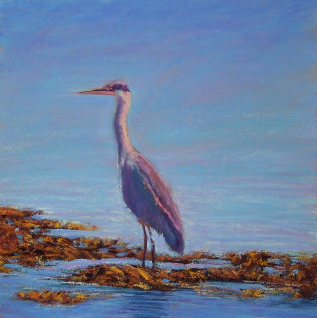 """Sentinel"" original fine art by Sharon Lewis"