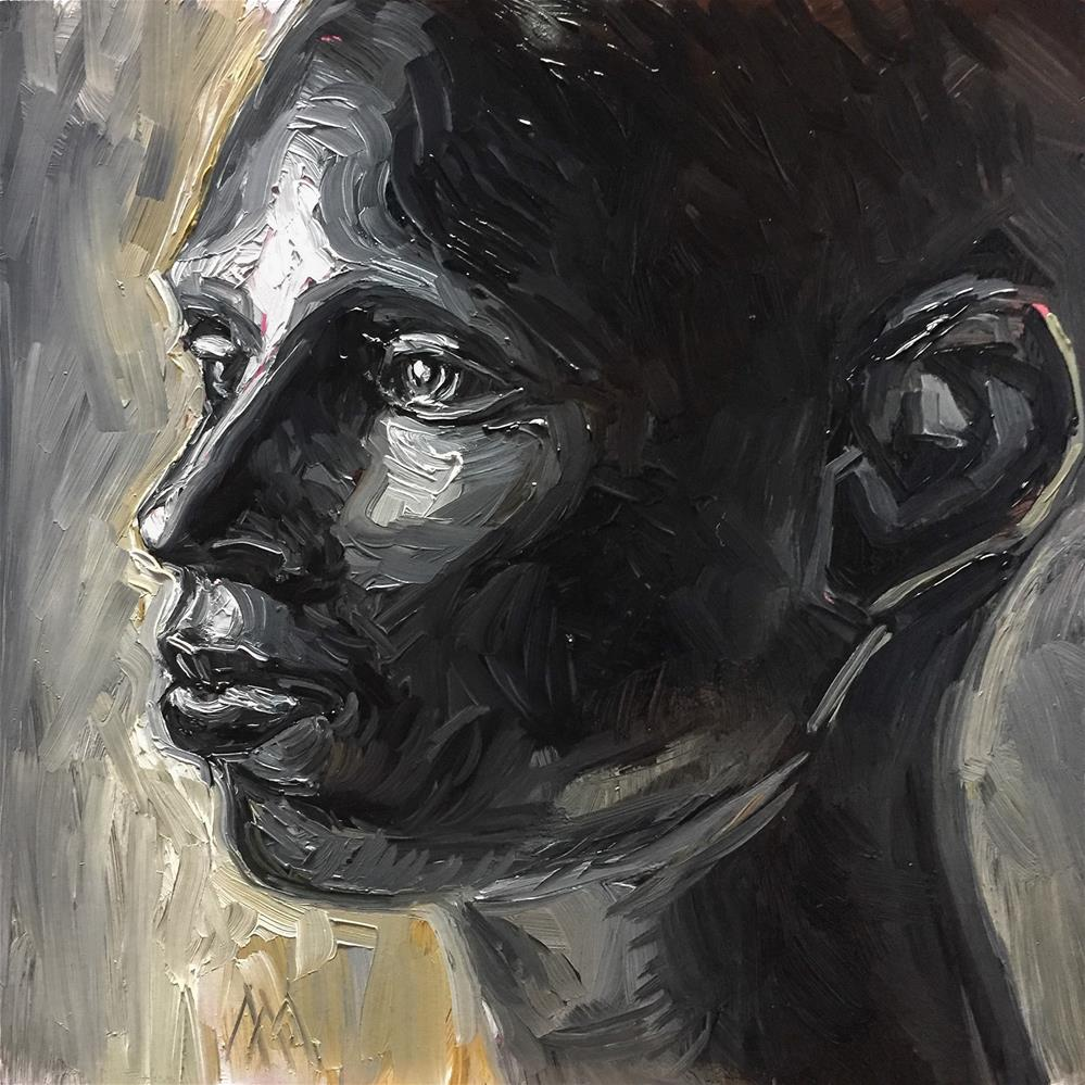 """African Statue 4"" original fine art by Austin Maloney"