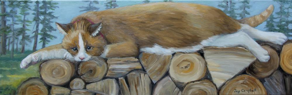 """Dreaming of Winter Heat"" original fine art by Joy Campbell"