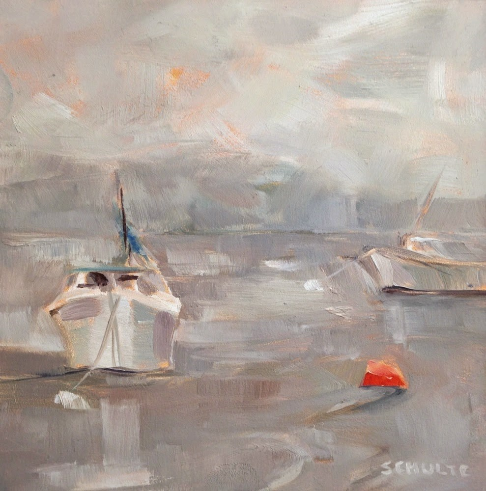 """Fog and Float"" original fine art by Lynne Schulte"