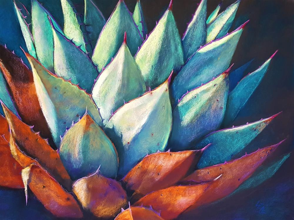 """Agave Entropy"" original fine art by Anna Lisa Leal"