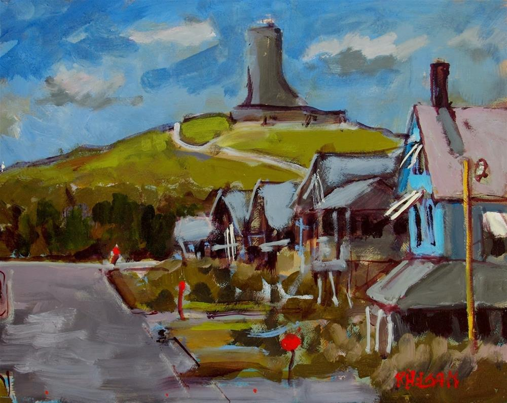 """Sutton Street"" original fine art by Rick Nilson"