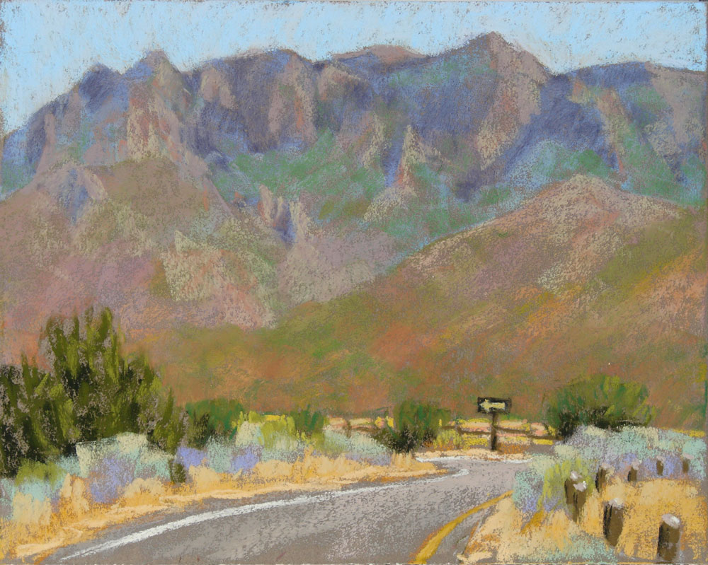 """Mountain Tour"" original fine art by Rita Kirkman"