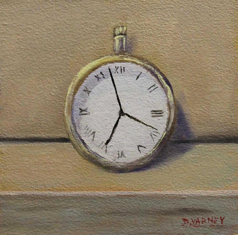 """Pocket Watch"" original fine art by Daniel Varney"