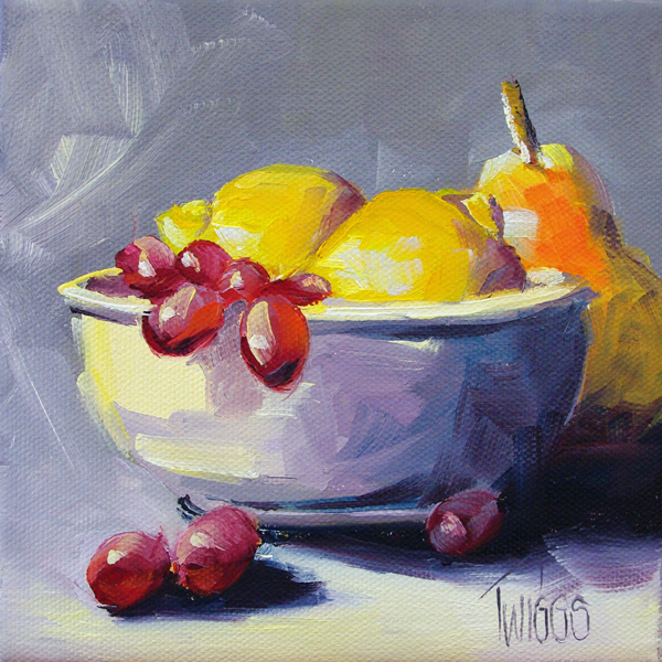 """Sweet & Tangy Breakfast"" original fine art by Lori Twiggs"