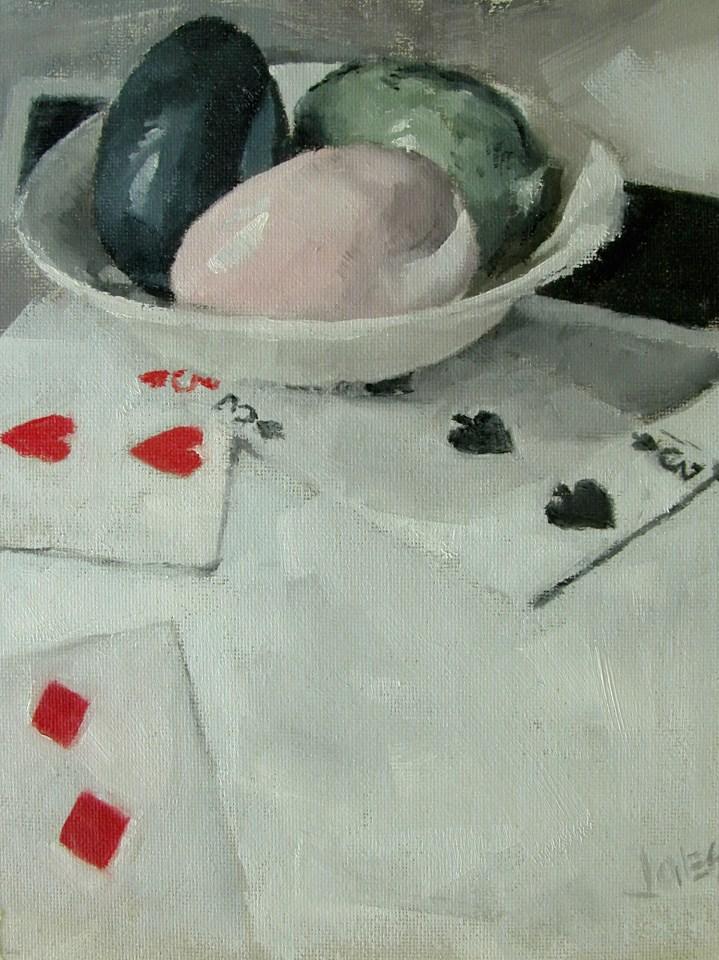 """Alabaster Eggs"" original fine art by Richard Jones"