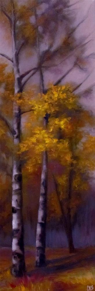 """The Last To Fall"" original fine art by ~ces~ Christine E. S. Code"
