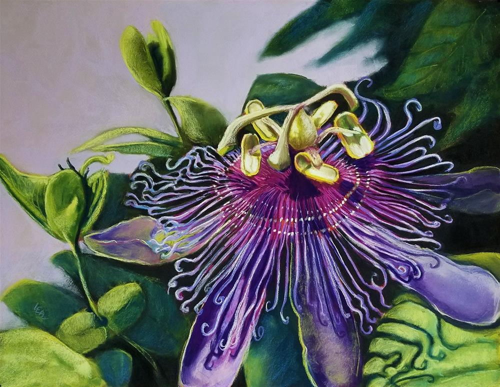 """Singular Passion"" original fine art by Anna Lisa Leal"