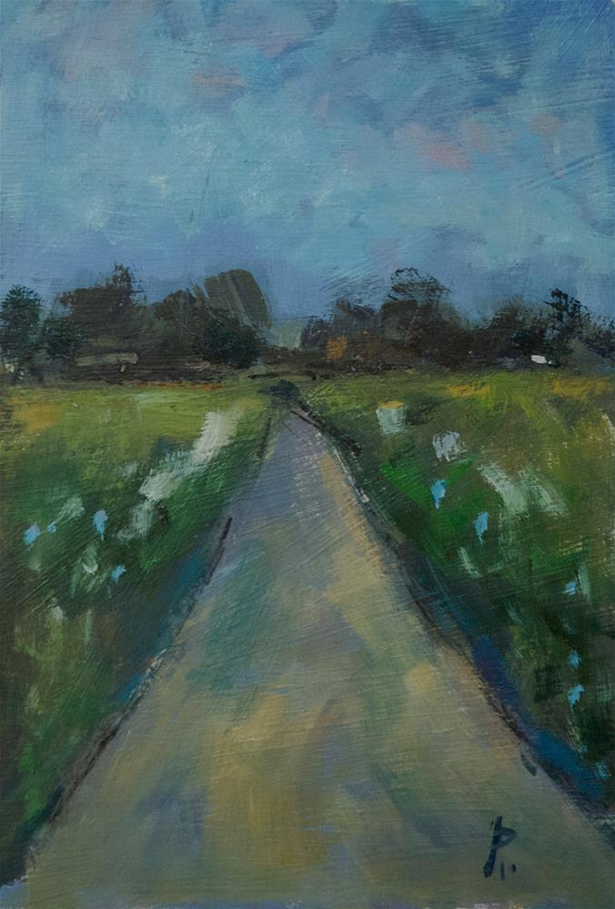 """Sussex Road"" original fine art by Andre Pallat"