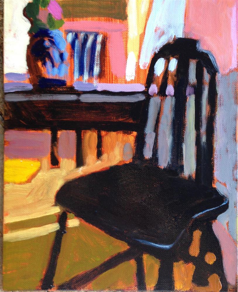 """Mother's Studio"" original fine art by Pamela Hoffmeister"