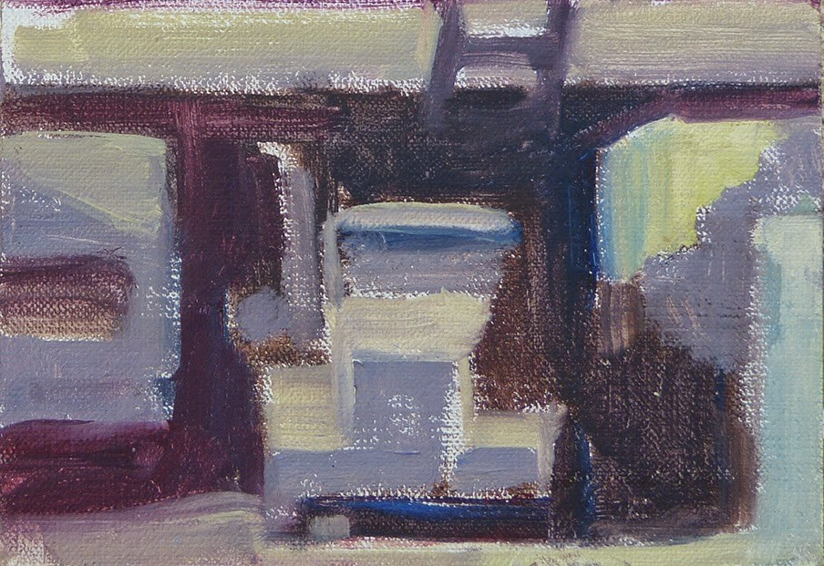 """Simplifying with William Wray"" original fine art by Anette Power"
