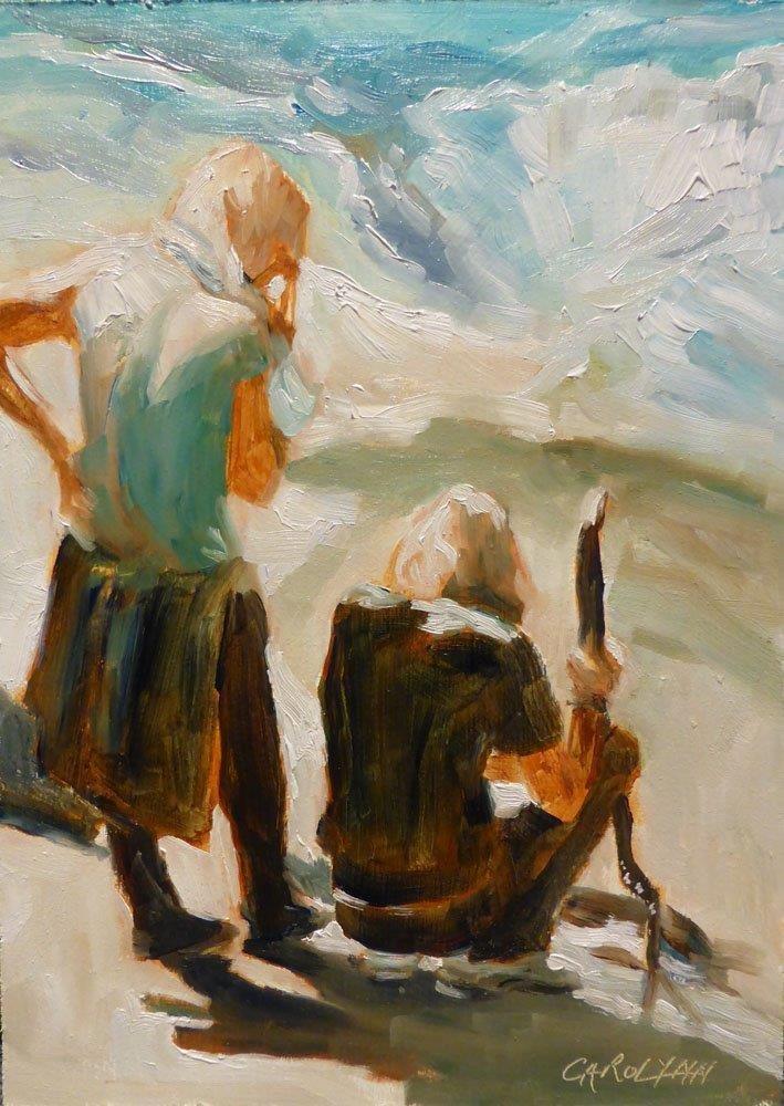"""""""The Seas's Wonder"""" original fine art by Carolynn Doan"""