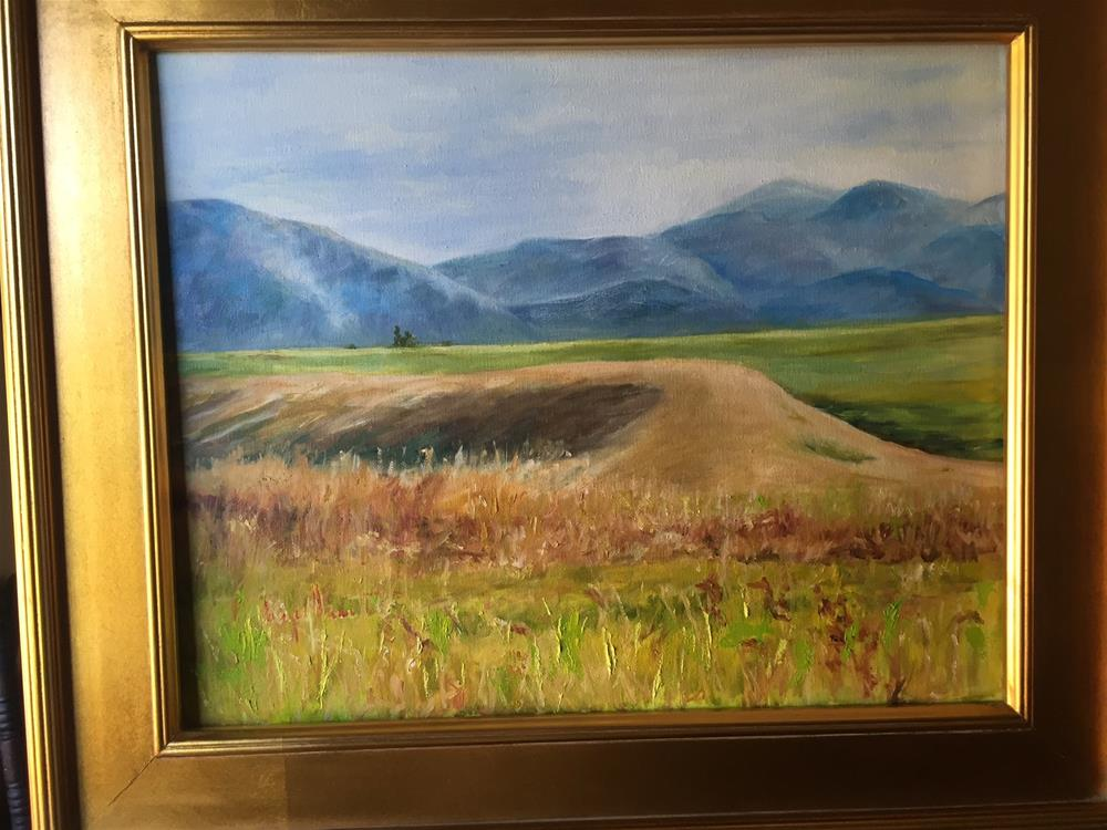 """Montana Symphony #3"" original fine art by Lucy Hammett"