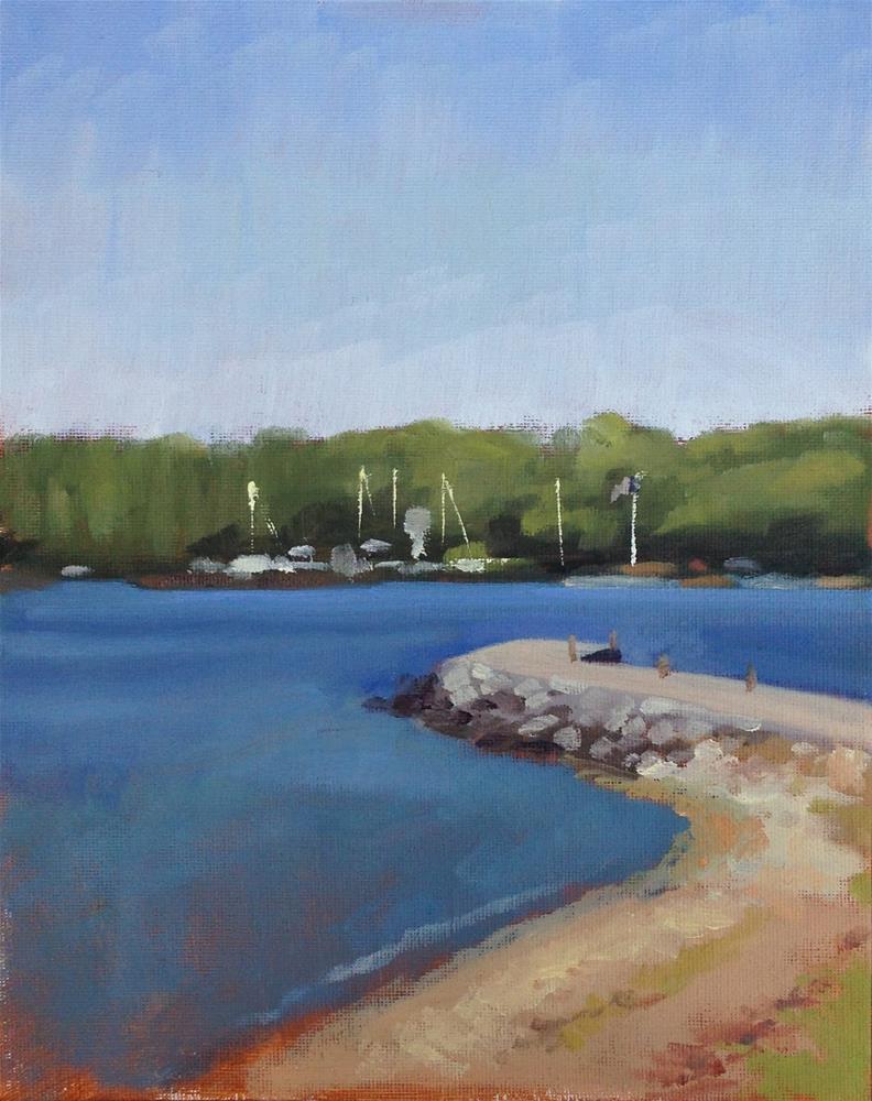 """Ellison Bay"" original fine art by Eric Larson"