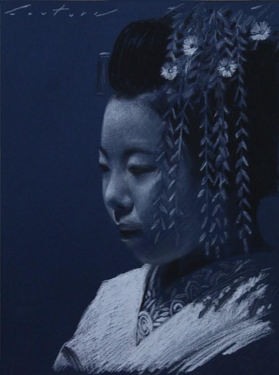 """Ichitaka"" original fine art by Phil Couture"