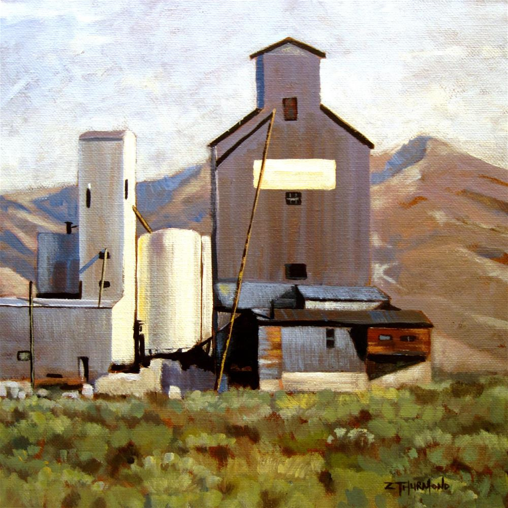 """Prairie Architecture"" original fine art by Zack Thurmond"