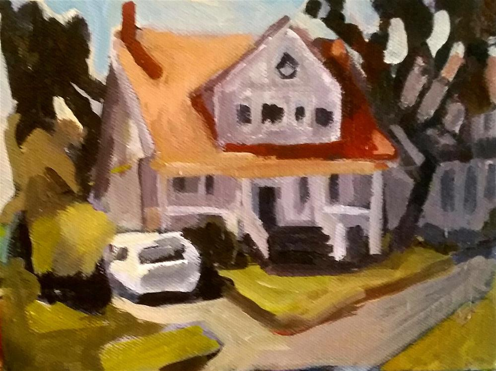 """Near Campbell Street"" original fine art by Liz Maynes"
