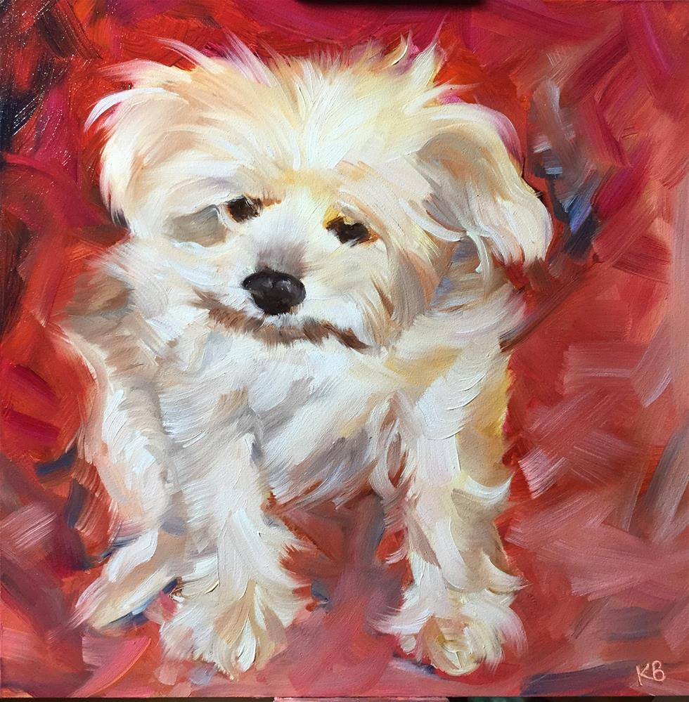 """Dolly"" original fine art by Kim Boyer"